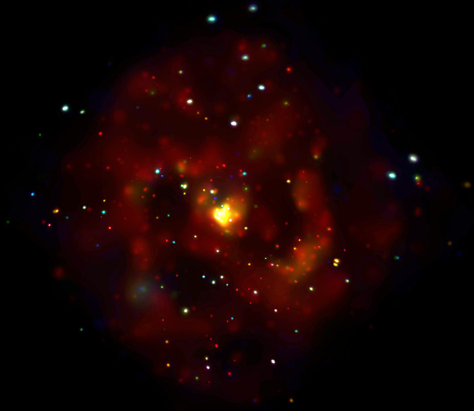 Chandra Image of M83